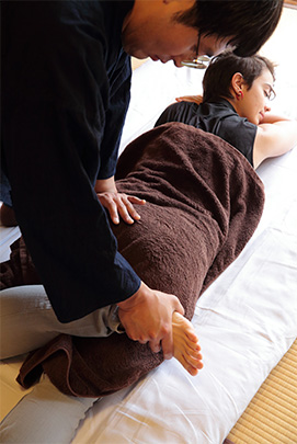 Temple Massage Service